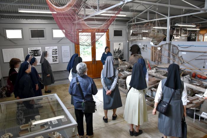 日本女子修道会の皆様を水俣案内|水俣病センター相思社