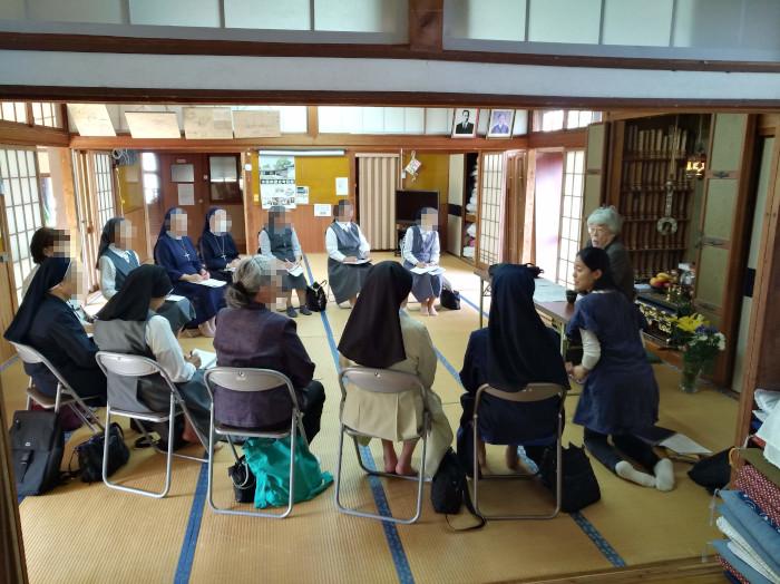 日本女子修道会の皆様を水俣案内 水俣病センター相思社