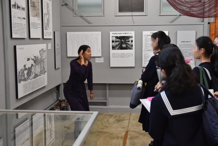 甲南女子高校の生徒たちが来訪|水俣病センター相思社