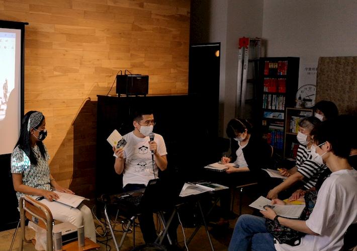 永野が福岡市とらきつねで講演 水俣病センター相思社