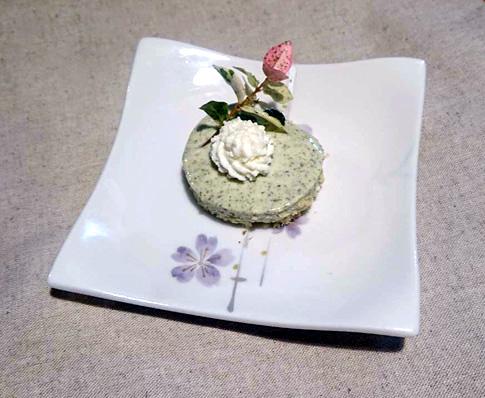新茶レアチーズケーキ